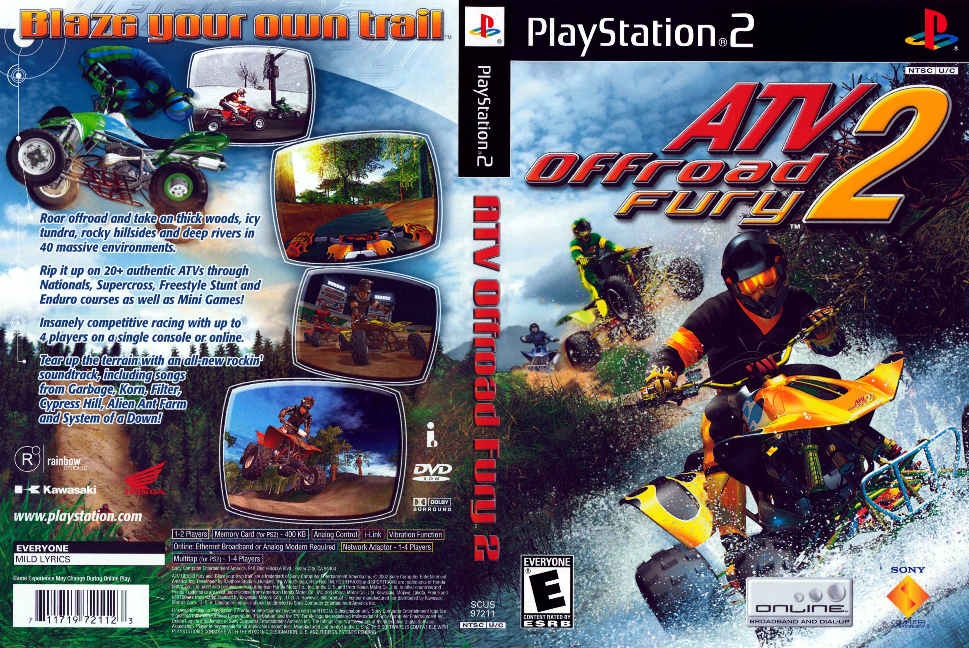 Jeu quad ATV Off Road Fury 2