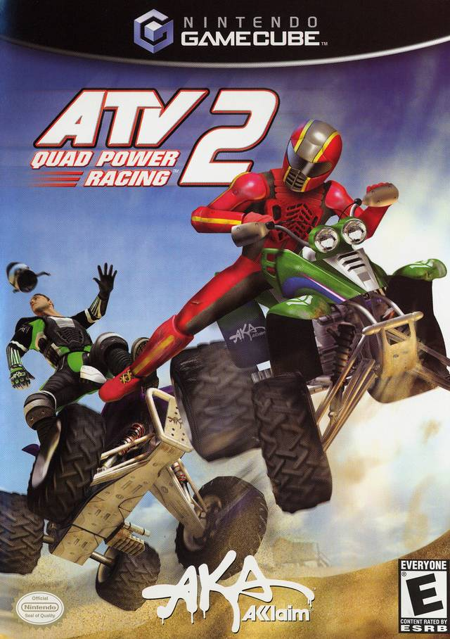 Jeu ATV Quad Power Racing 2 sur Gamecube