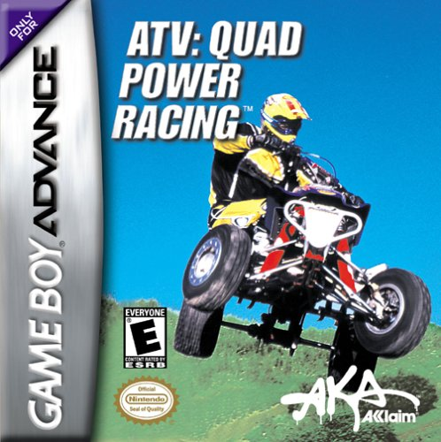 Jeu ATV Quad Power Racing sur Gameboy Advance