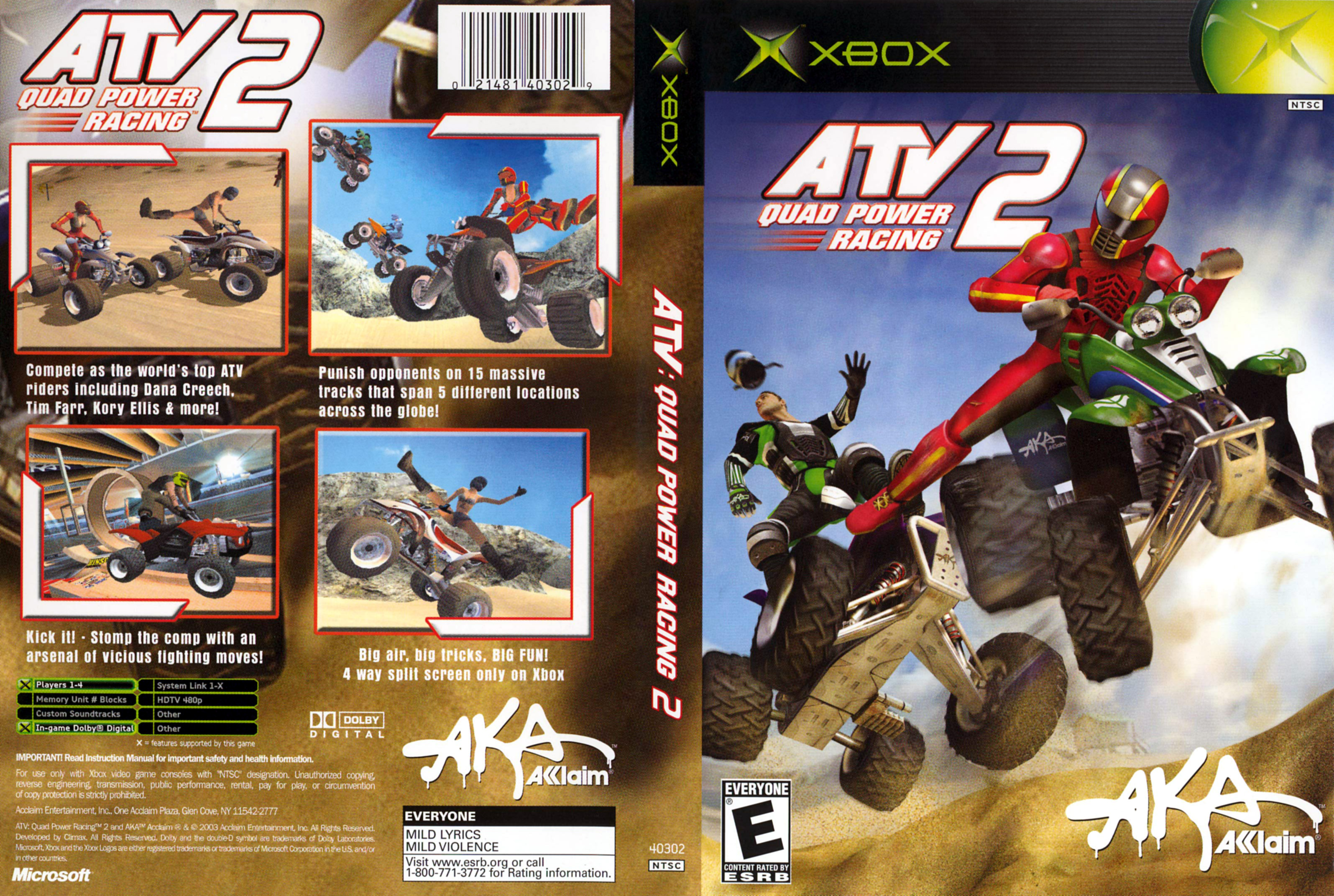 Jeu ATV Quad Power Racing 2 sur Xbox 360