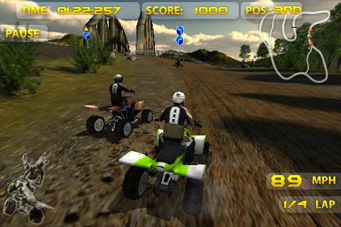 Jeu ATV Madness sur Android