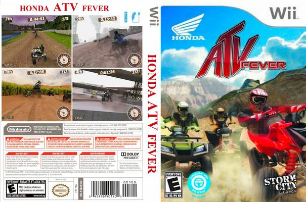 Jeu quad ATV Fever