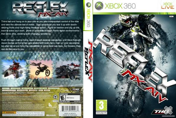 Jeu quad MX VS ATV : Reflex