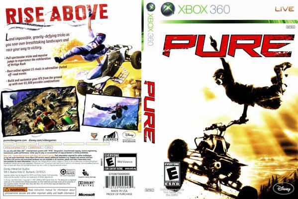 Jeu Pure sur Xbox 360