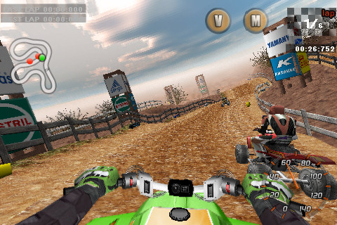 Jeu Xtreme Quad Racing sur Iphone
