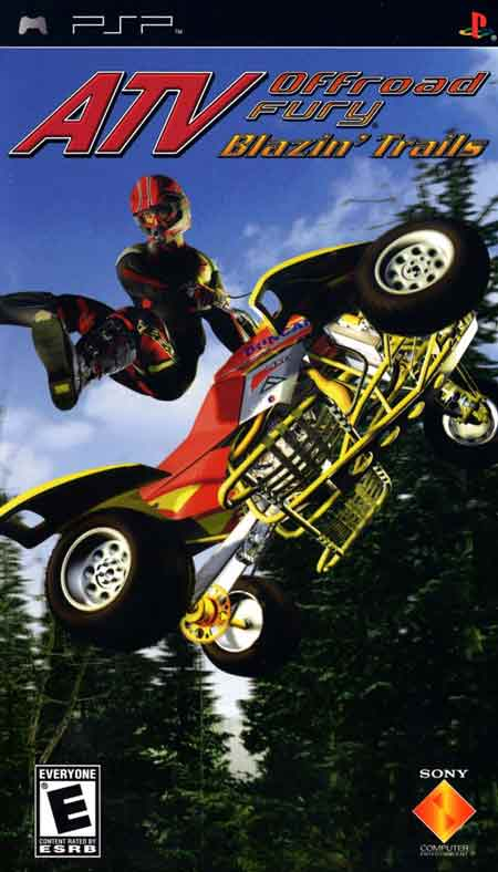 Jeu ATV Off Road Fury : Blazin Trails sur PSP