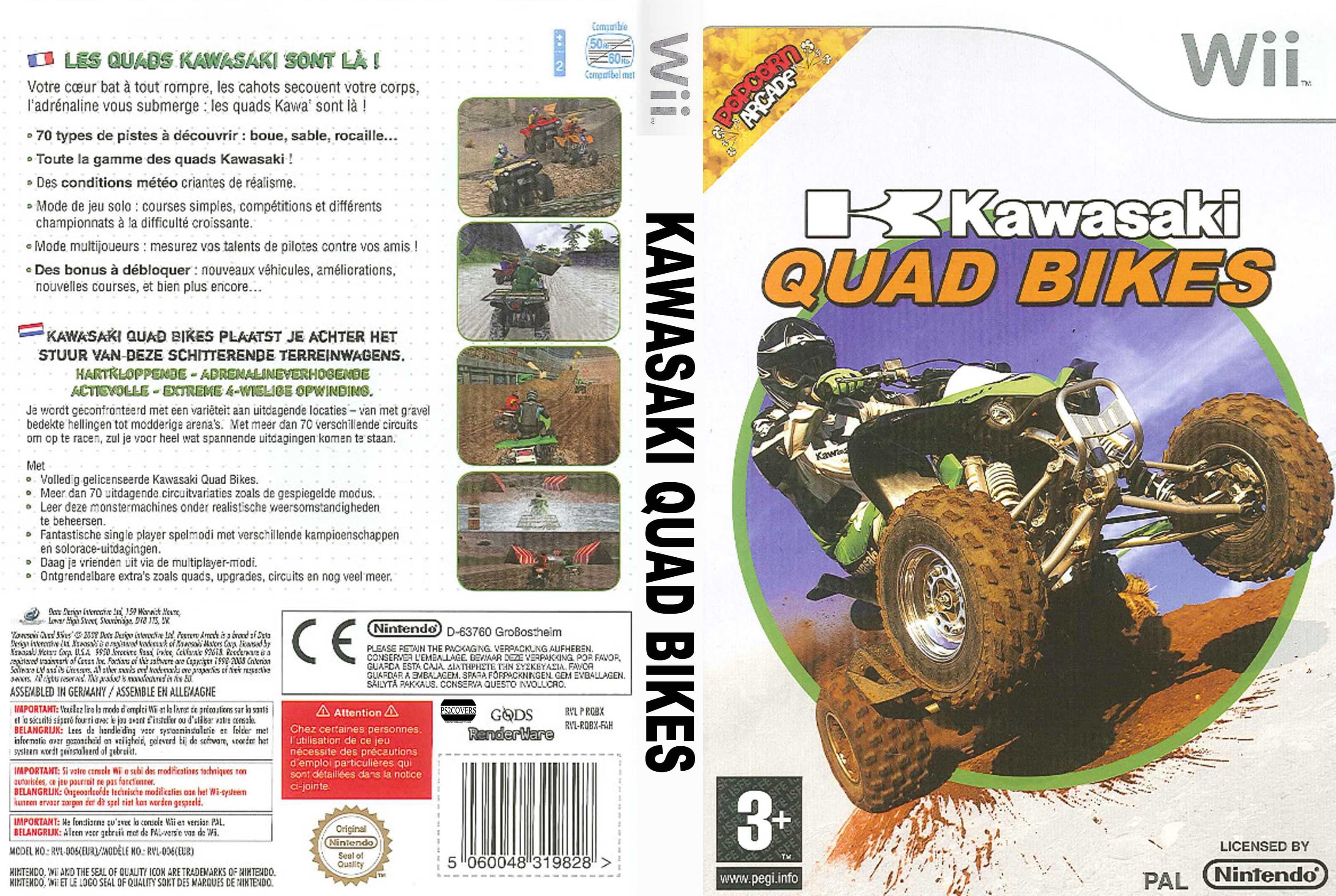 Jeu Kawasaki Quad Bikes sur Wii