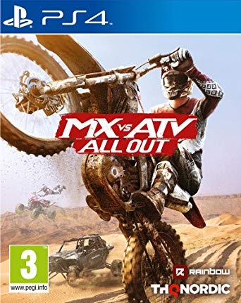 Jeu MX vs ATV All Out sur PS4