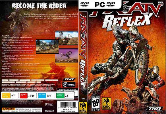 Jeu quad MX vs ATV Reflex