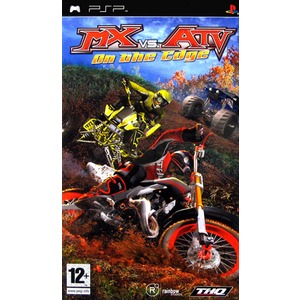Jeu MX vs ATV : On the edge sur PSP