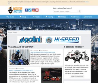 Découvrez Scooter System, le guide du scooter
